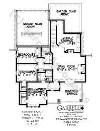 Bungalow Floor Plans  Bungalow Style Homes  Arts And Crafts Bungalow House Plans