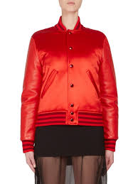 givenchy dutchess satin leather er jacket red women s jackets vests faux givenchy jewelry