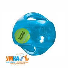<b>Kong</b> : <b>Kong Jumbler</b> резиновая <b>игрушка</b> 2в1 для собак средних и ...