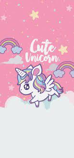 Cute Iphone Home Screen Unicorn Wallpaper