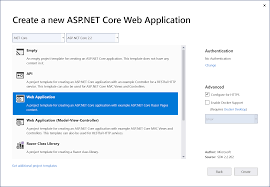 Step 2: Creating Your First ASP.NET Core Web App - Visual Studio ...