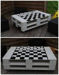 turning pallets into furniture. chess coffee table outdoor pallet projects more turning pallets into furniture l
