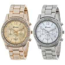 compare prices on silver watches men online shopping buy low 2 pack geneva quartz watch women men silver and gold plated classic round ladies boyfriend watches