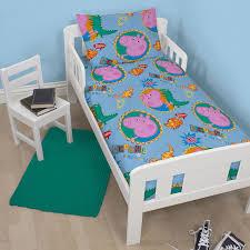 Peppa Pig Bedroom Decor Peppa Pig Amp George Pig Duvet Quilt Covers Toddler Single