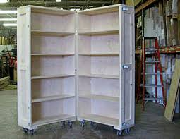 shipping crate furniture. Bookcase Furniture Crate Partially Open Shipping