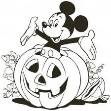 Small Picture Mickey Mouse Halloween Coloring Pages itgodme