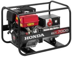 <b>Генератор бензиновый Honda ECT 7000 K1</b> (3,6/6,5 кВт) в ...