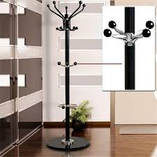 Hat And Coat Rack Tree Cool Tree Style Coat Rack 3232m Metal Coat Hat Jacket Stand Tree Holder