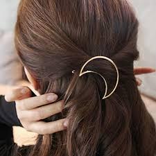 مشبك شعر للنساء 8 قطع مشابك شعر دبابيس شكل مثلث على شكل فراشة على شكل دائرة
