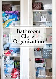 Bathroom Closet Organization Ideas Enchanting Master Closet Makeover Blooming Homestead