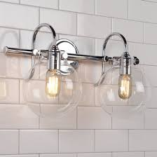 Brass bathroom light fixtures Nepinetwork Retro Glass Globe Bath Light Light Shades Of Light Bathroom Lighting Fixtures Vanity Lighting Shades Of Light