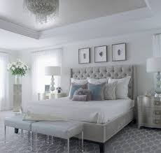 Bedroom white furniture King Size Bedroom With Grey Bed White Wall And Silvercolored Furniture Linda Brownell 21 Most Fabulous Grey And White Bedroom Ideas To Get Inspired By