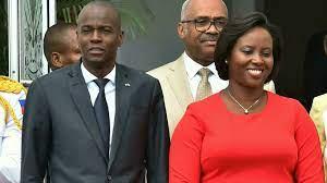 Widow of assassinated Haitian president ...