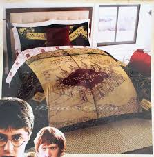 harry potter comforter set awesome new harry potter ly hallows marauders map full queen