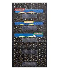 Carson Dellosa Gold Stars Pocket Chart