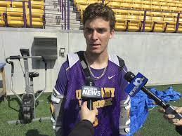 Connor Fields played with torn ACL