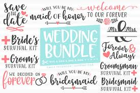 You can't upload icons as an anonymous user. Wedding Bundle 11 Designs Svg Dxf Eps Png Example Image 1 Svg Design Bundles Dxf
