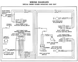 power window wiring diagram daihatsu wiring diagram power window and seat circuit for 1955 chevrolet station wagons sedan delivery