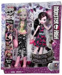 monster high wele to monster high monstrous rivals 2 pk dolls monster high doll accessories playsets toys monster high