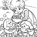 Small Picture Rainbow Brite Activity Coloring Pages for Kids Free Printable
