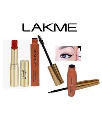 lakme 9 to 5 absolute russian red lipstick eyeliner maa makeup kit ml lakme 9 to 5 absolute russian red lipstick eyeliner maa makeup kit