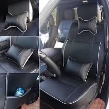 seat covers for dodge ram 2009 2018 1500 2500 3500 black full set w