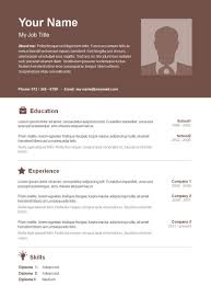 20 Resume Templates Download Create Your Resume In 5 Minutes Resume ...