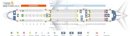 Singapore Airlines Fleet Boeing 777 200er Details And
