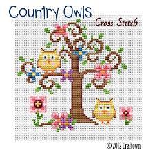 Cross Stitch Free Patterns Classy Free Cross Stitch Pattern Country Owls