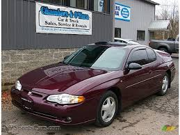 2004 Chevrolet Monte Carlo SS in Berry Red Metallic - 231566 ...