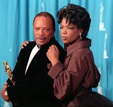 oprah winfrey academy of achievement quincy jones and oprah winfrey at the 1995 academy awards ceremony in los angeles where