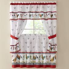 Rooster Kitchen Curtains Beautify Your House With Kitchen Curtain Ideas Kitchen Ideas