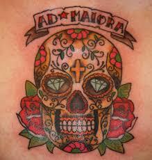 Tatuaggi In Stile Messicani Cultura Fondamentale Per Il Mondo Del