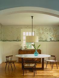 Wallpapering For A Living Room 27 Splendid Wallpaper Decorating Ideas For The Dining Room