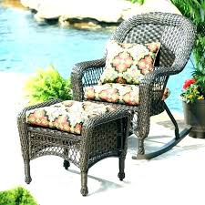 patio ottoman cushion cushions round outdoor inspirational and storage
