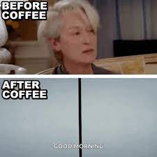 Let us know in the comments. Before Coffee After Coffee Gifs Tenor