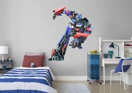 optimus prime fathead wall decal