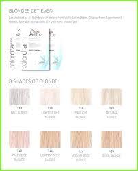 Color Charm Hair Color Chart Wella Color Charm Shades Www Imghulk Com