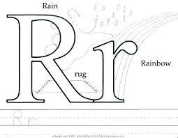 Letter R Coloring Pages Letter T Color Page Letter R Coloring Pages
