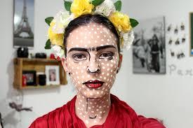 frida kahlo pop art makeup by nataliaferreira