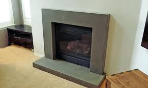 reclaimed wood and concrete fireplace surround surrounds vancouver 2