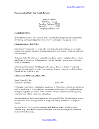 Sales Rep Sample Resume Cover Letter for Medical Sales Representative with No Experience New 44