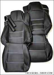 mercedes mp4 leatherette seat covers