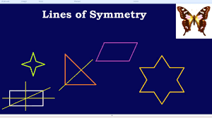 Lines Of Symmetry Powerpoint Lines Of Symmetry Youtube