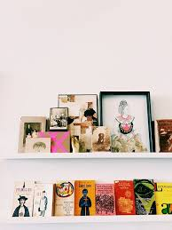 book collection display idea studio tour with lisa congdon sfbybay