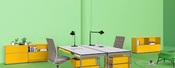 Yellow Office Usm Modular Furniture Modern Furniture For Home And Office