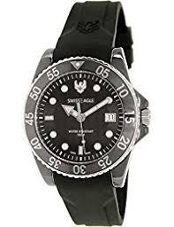 amazon co uk swiss eagle watches swiss eagle se 9052 33 glacier mens watch analogue quartz black dial black silicone strap