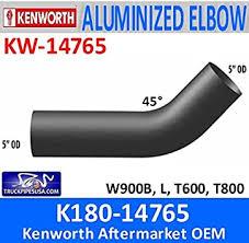 Amazon.com: K180-14765 Kenworth Exhaust 45 Degree Elbow KW-14765 :  Automotive