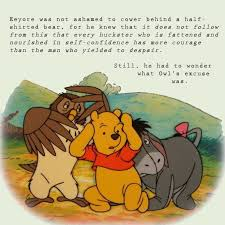 I was yesterday years old when i realized that he is an onomatopoeic character. Donkey Philosophy Winnie The Pooh Pictures Cartoon Quotes Pooh Quotes