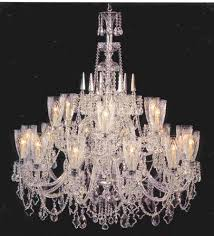 beautifully detailed cut crystal hurricane shades and crystal spears highlight this hard to find masterpiece